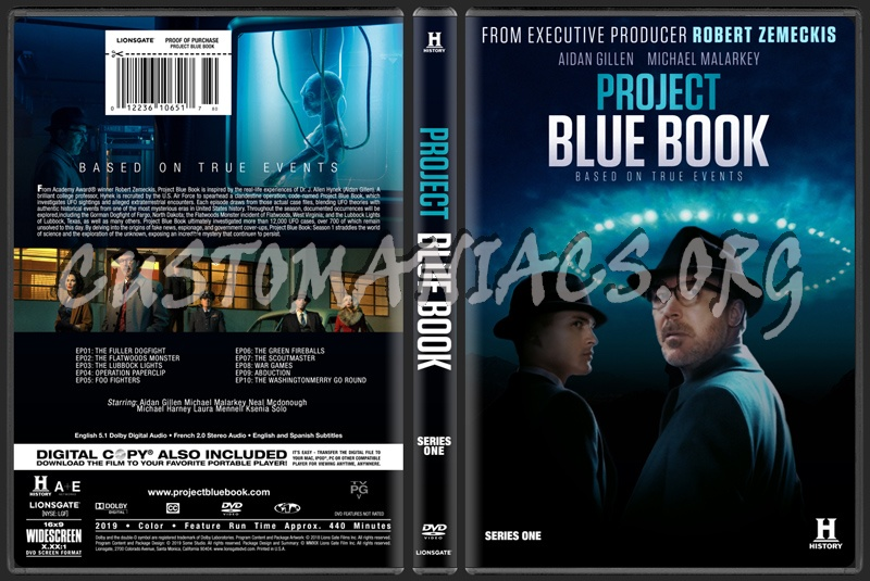 Project Blue Book dvd cover