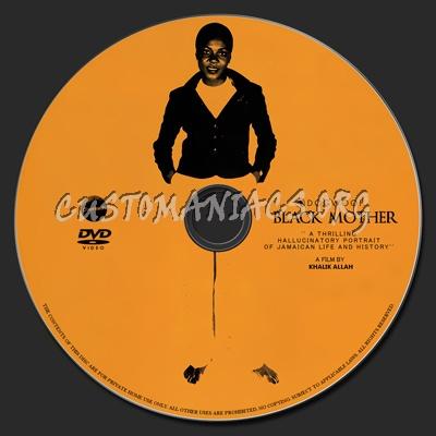 Black Mother dvd label