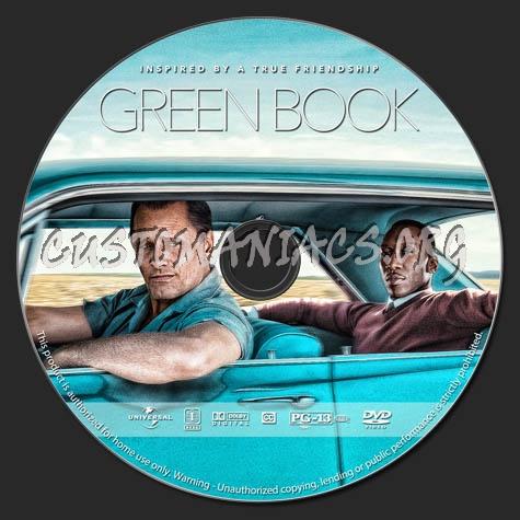 Green Book dvd label