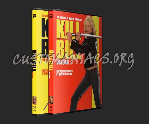 Kill Bill 1 & 2 dvd cover