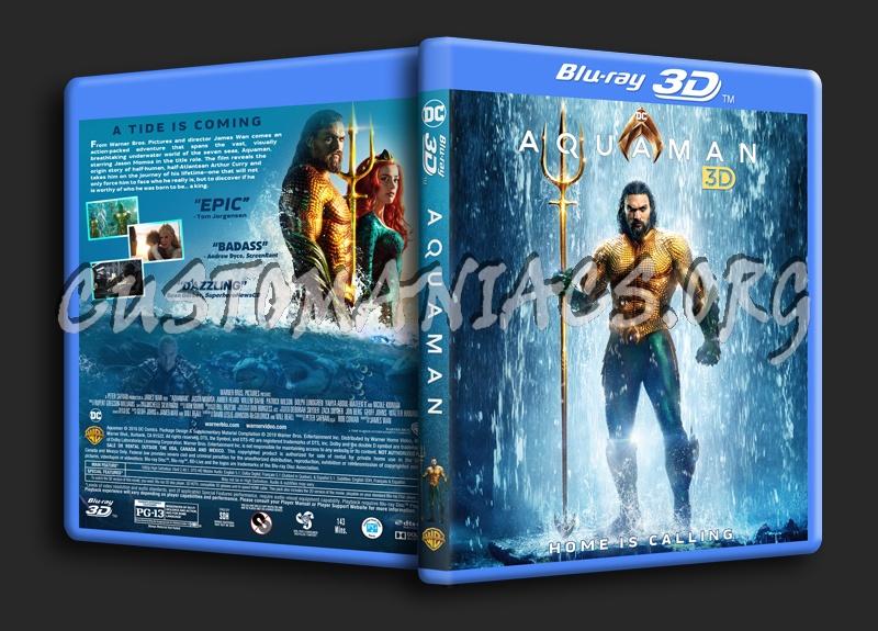 Aquaman (2018) 3D blu-ray cover