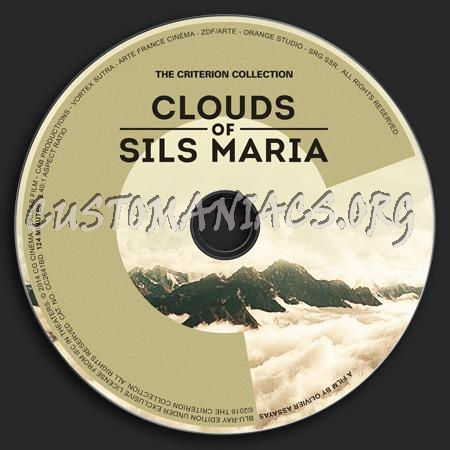822 - Clouds of Sils Maria dvd label