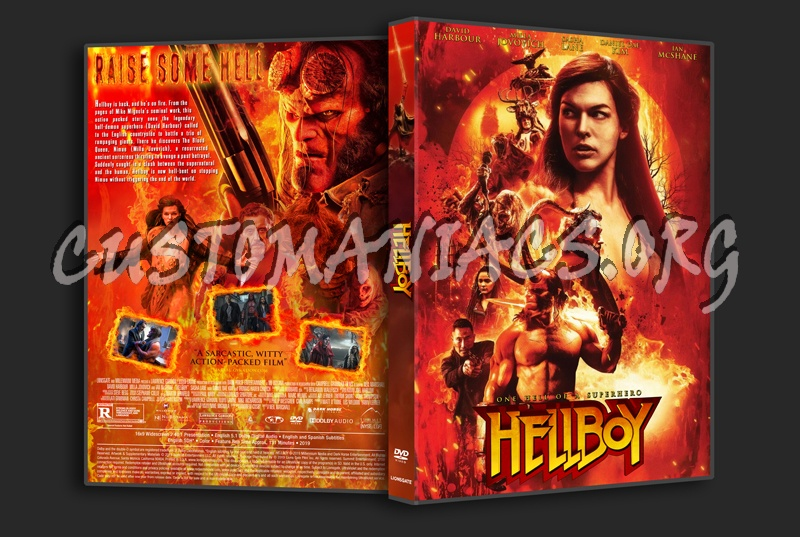 Hellboy (2019) dvd cover