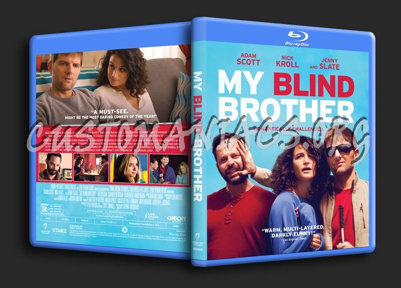 My Blind Brother blu-ray cover