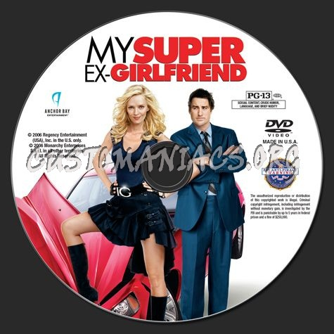 My Super Ex-Girlfriend dvd label