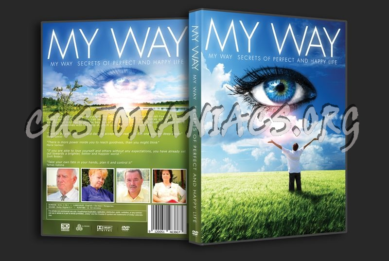 My Way: Secrets of Perfect Happy Life dvd cover