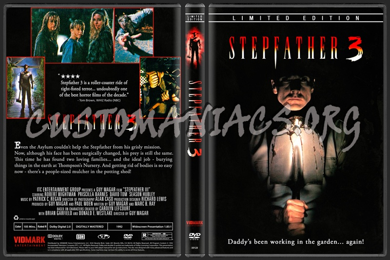 Stepfather 3 (1992) dvd cover