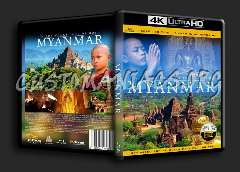 Myanmar 4K blu-ray cover