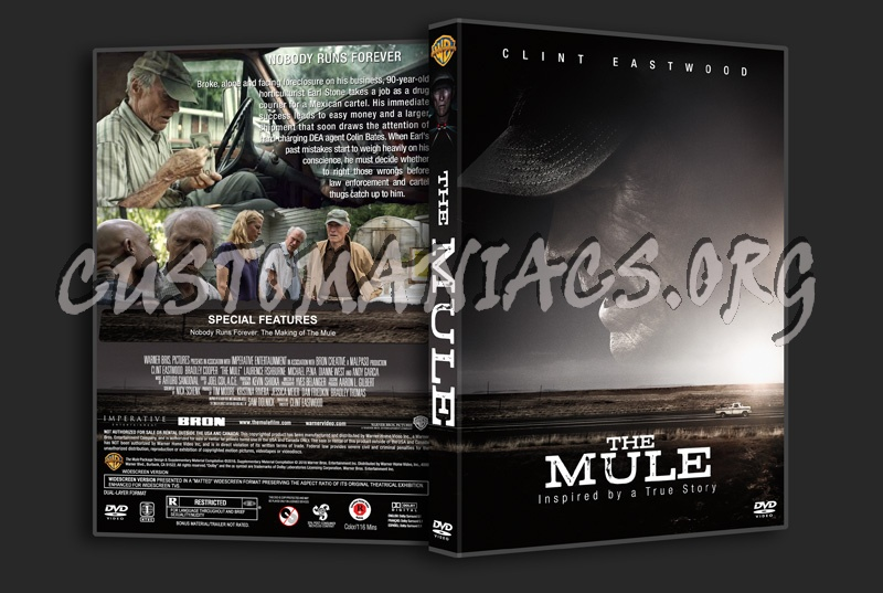 The Mule dvd cover