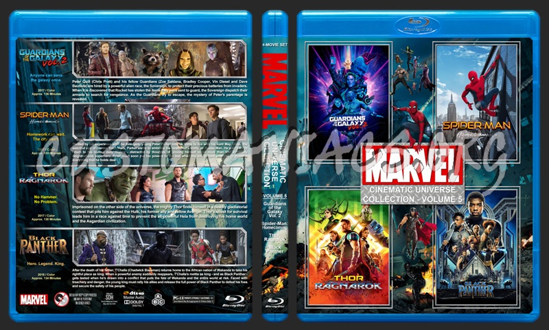 The Marvel Cinematic Universe Collection - Volume 5 blu-ray cover