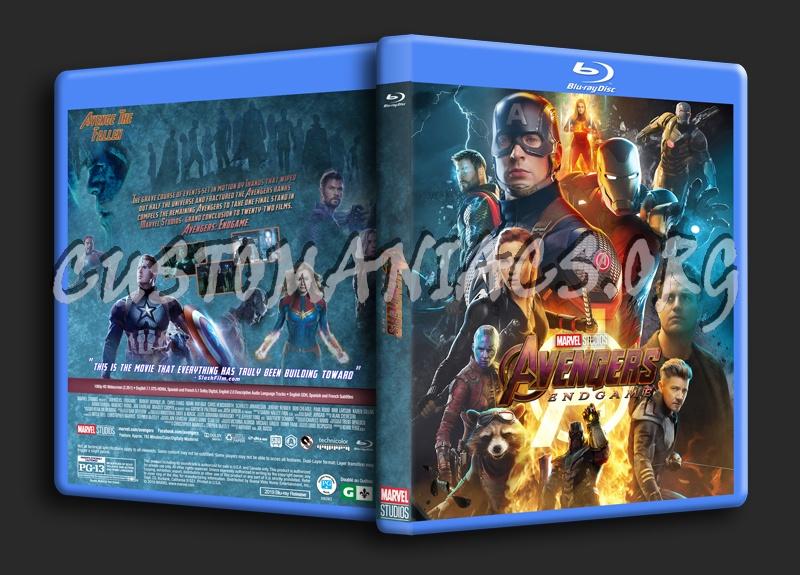 Avengers: Endgame blu-ray cover