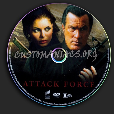Attack Force dvd label