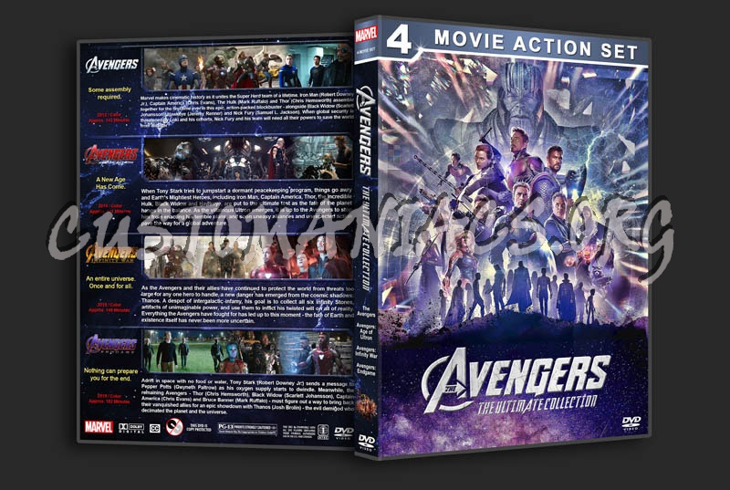 Avengers: The Ultimate Collection dvd cover