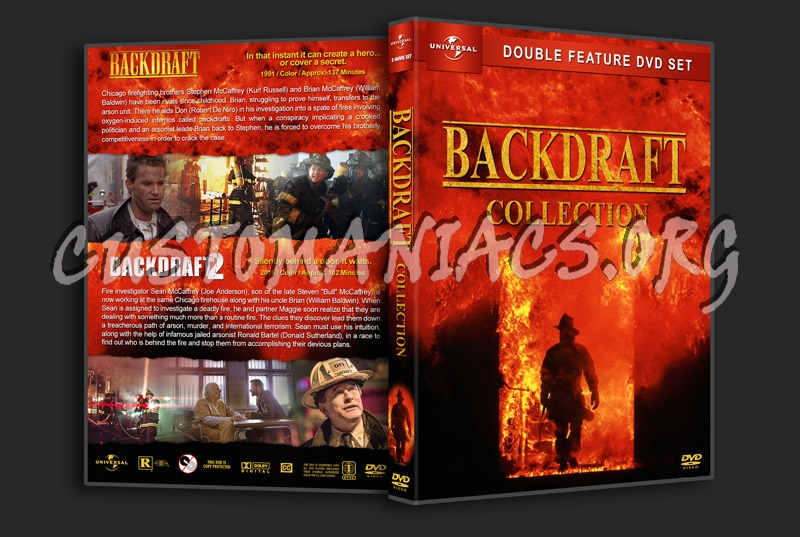 Backdraft Collection dvd cover