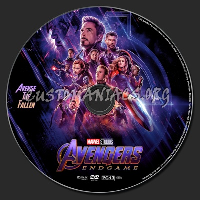 Avengers Endgame Dvd Label Dvd Covers Labels By Customaniacs
