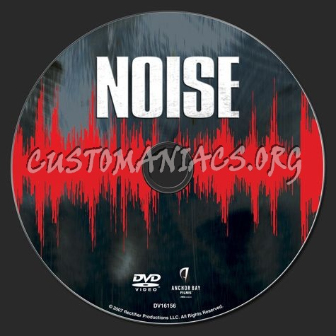 Noise dvd label
