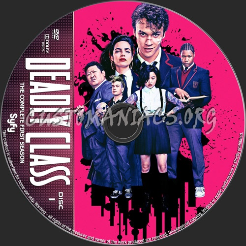 Deadly Class Season 1 dvd label