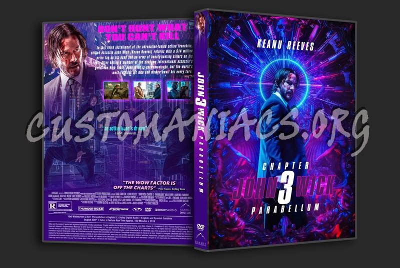 John Wick Chapter 3 - Parabellum dvd cover