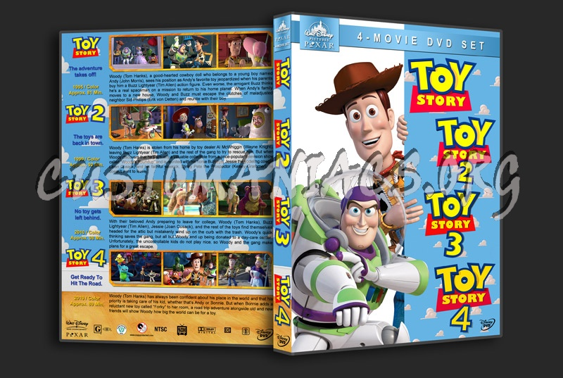 Toy Story Collection dvd cover