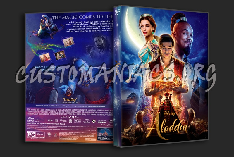 Aladdin 2019 dvd cover