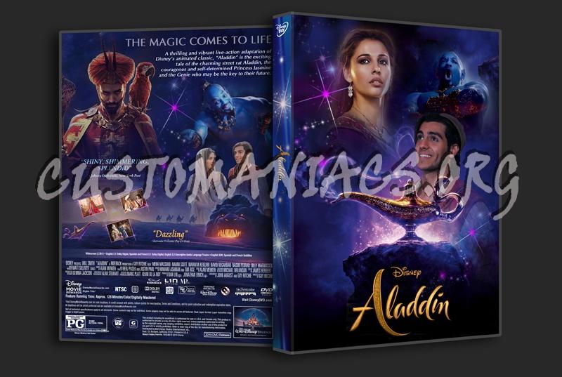 Aladdin 2019 dvd cover