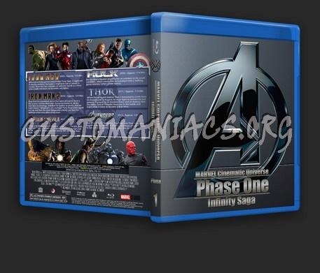 Marvel Cinematic Universe: Infinity Saga - Phase One blu-ray