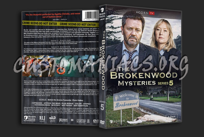 The Brokenwood Mysteries - Series 5 dvd cover