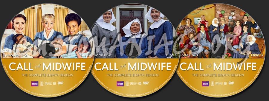 Call the Midwife - Season 8 dvd label