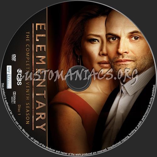 Elementary Season 7 dvd label