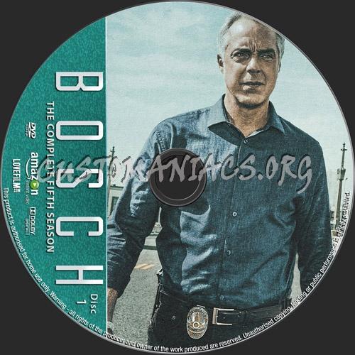 Bosch Season 5 dvd label
