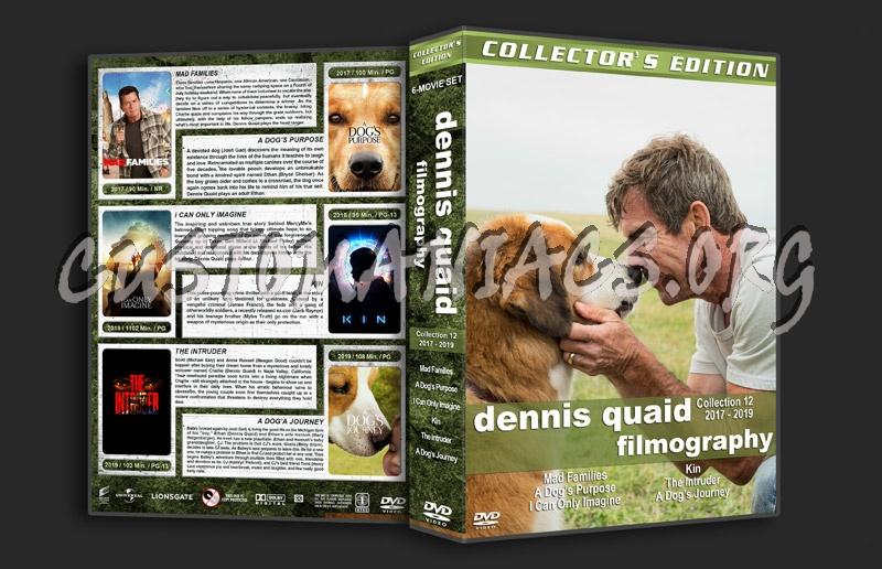 Dennis Quaid Filmography - Set 12 (2017-2019) dvd cover