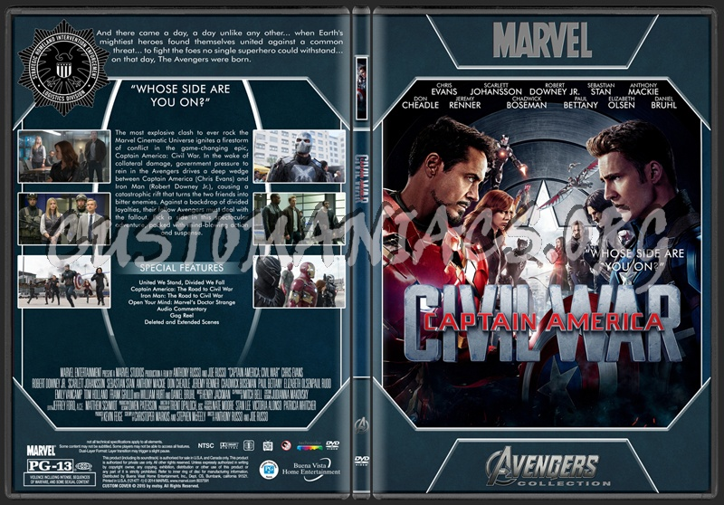 Avengers Collection - Captain America Civil War