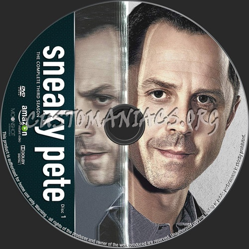 Sneaky Pete Season 3 dvd label