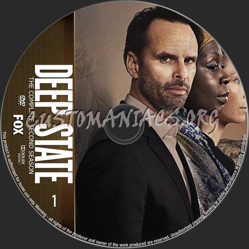 Deep State Season 2 dvd label