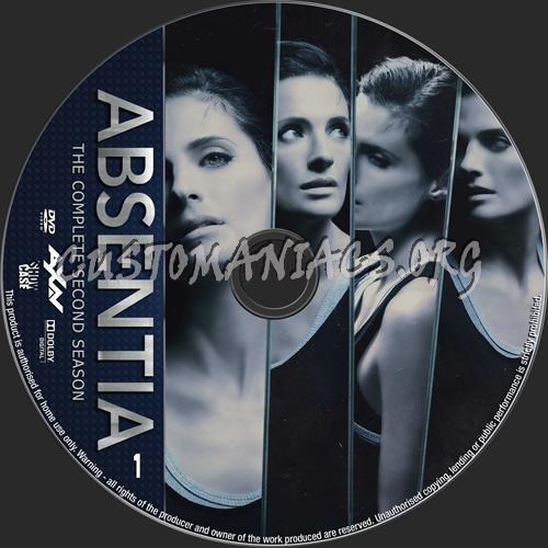 Absentia Season 2 dvd label