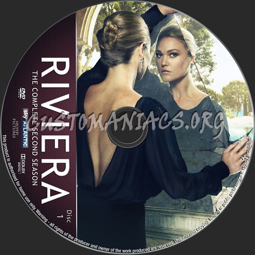 Riviera Season 2 dvd label