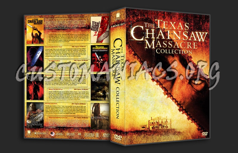 The Texas Chainsaw Massacre Collection dvd cover
