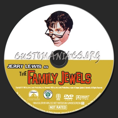 The Family Jewels dvd label