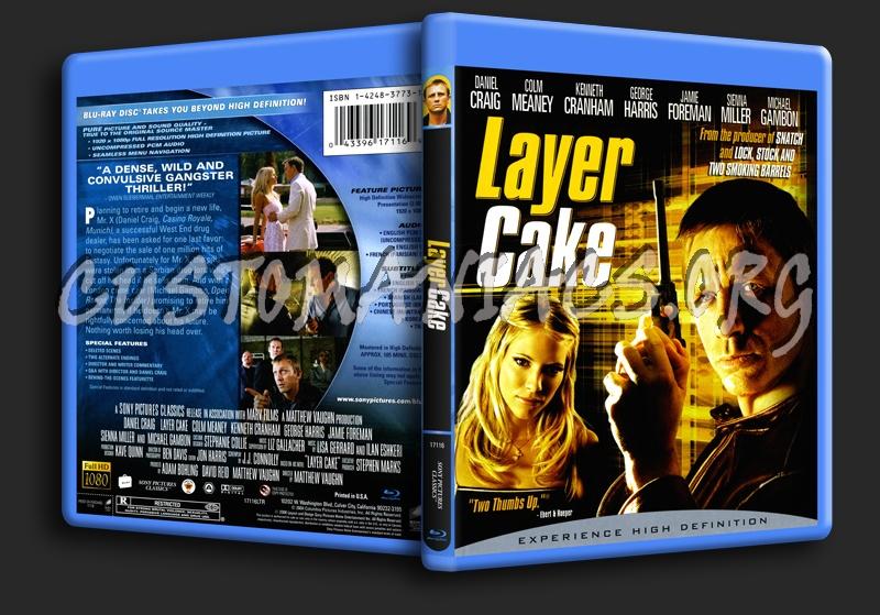 L4yer Cake / Layer Cake blu-ray cover