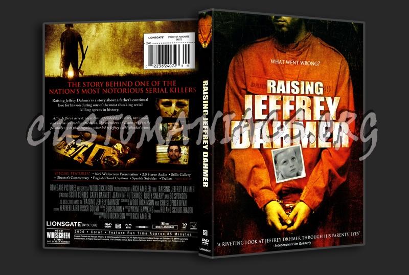 Rasing Jeffrey Dahmer dvd cover