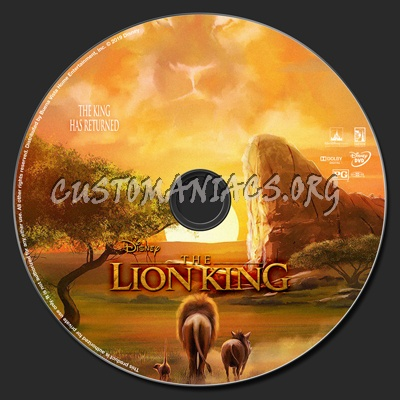 The Lion King 2019 Dvd Label Dvd Covers Labels By