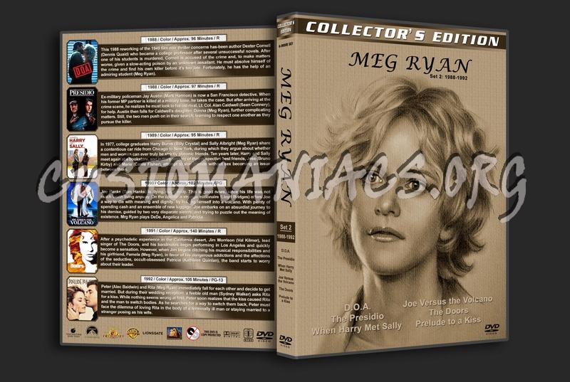 Meg Ryan Filmography - Set 2 (1988-1992) dvd cover