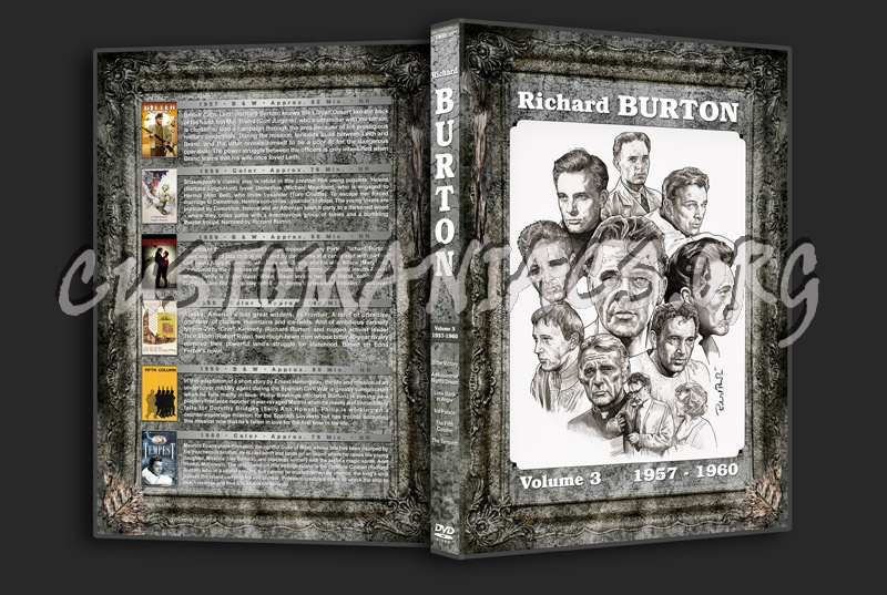 Richard Burton Filmography - Volume 3 (1957-1960) dvd cover