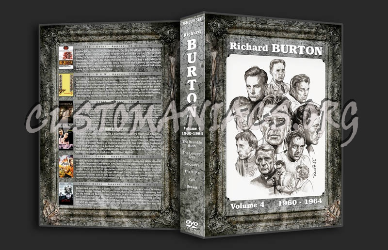 Richard Burton Filmography - Volume 4 (1960-1964) dvd cover