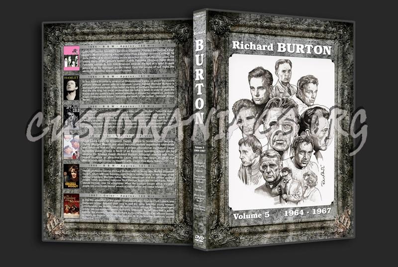 Richard Burton Filmography - Volume 5 (1964-1967) dvd cover