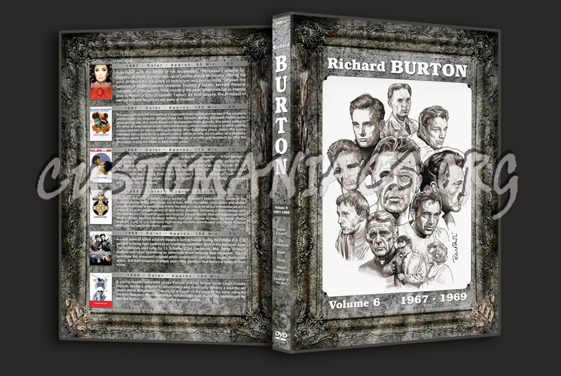Richard Burton Filmography - Volume 6 (1967-1969) dvd cover