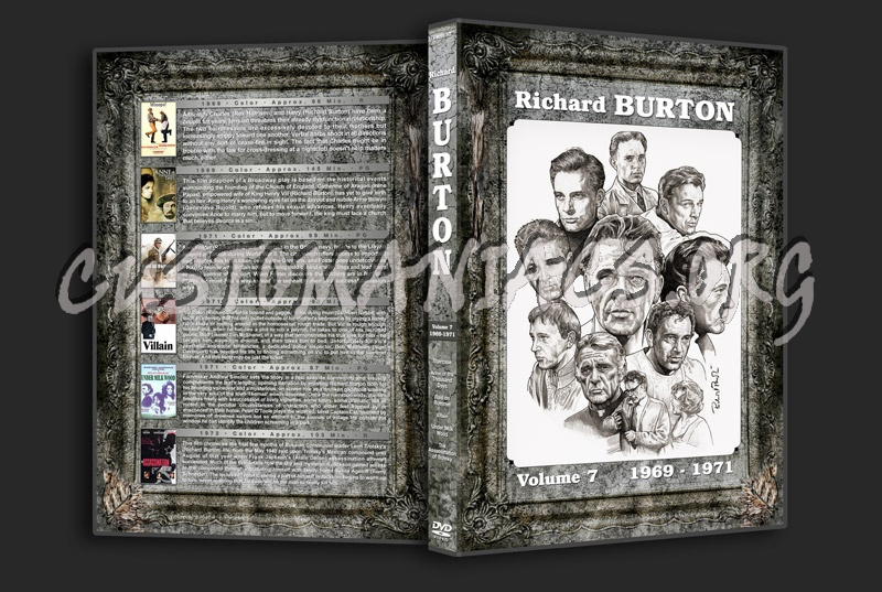 Richard Burton Filmography - Volume 7 (1969-1971) dvd cover