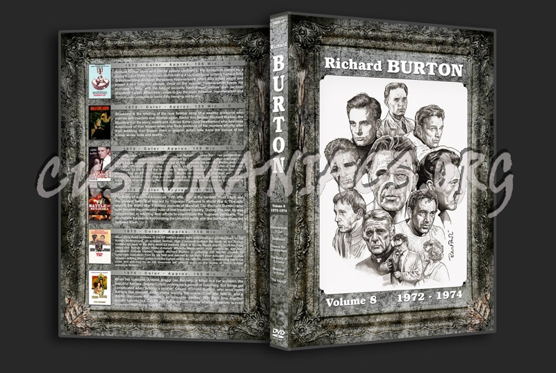 Richard Burton Filmography - Volume 8 (1972-1974) dvd cover