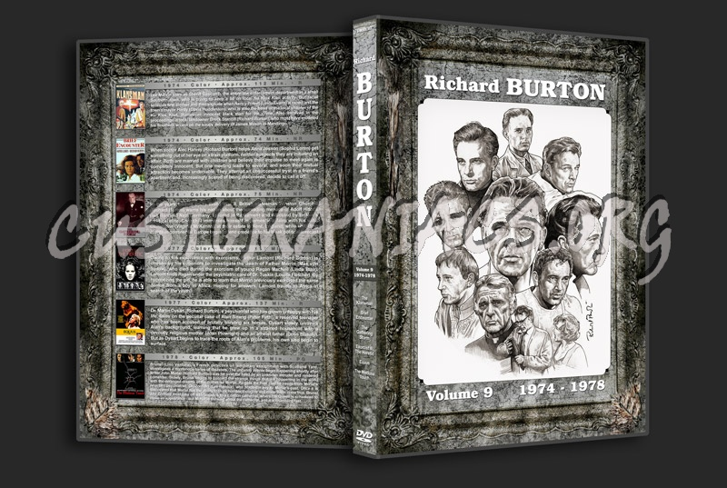 Richard Burton Filmography - Volume 9 (1974-1978) dvd cover