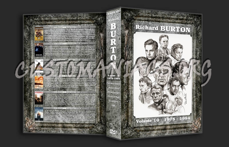 Richard Burton Filmography - Volume 10 (1978-1984) dvd cover